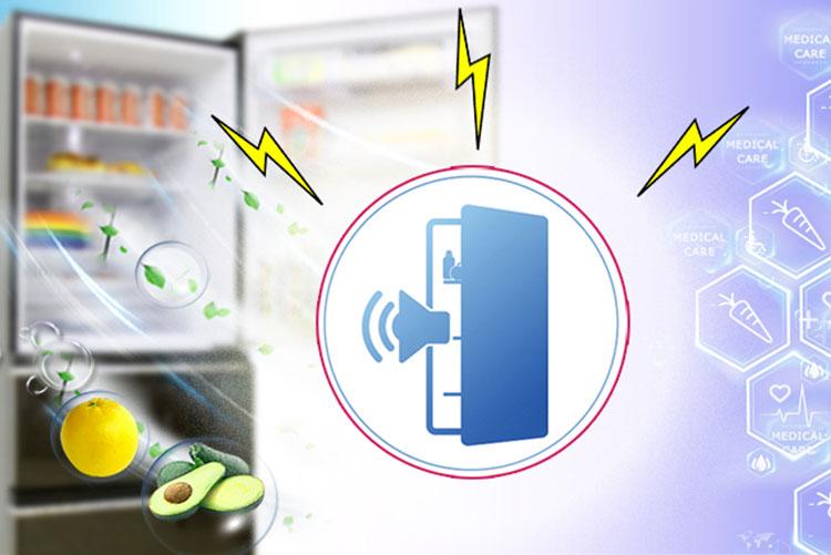 Tủ Lạnh Inverter Mitsubishi MR-CX46EJ (358L) - Bạc Nhũ