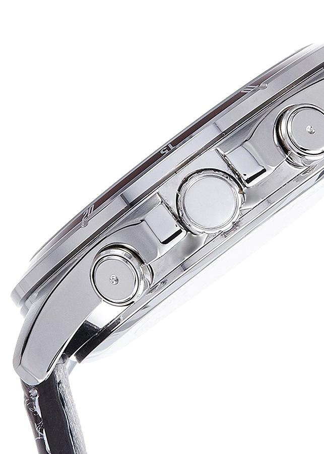 Đồng Hồ Nam Dây Da Casio MTP-1374L-7A1VDF (43mm) - Nâu Đen