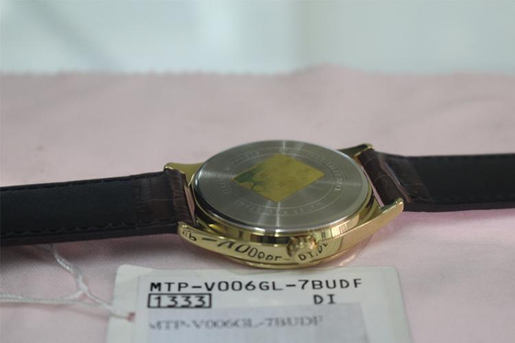 Đồng Hồ Nam Dây Da Casio MTP-V006GL-7BUDF (38mm) - Nâu Đậm