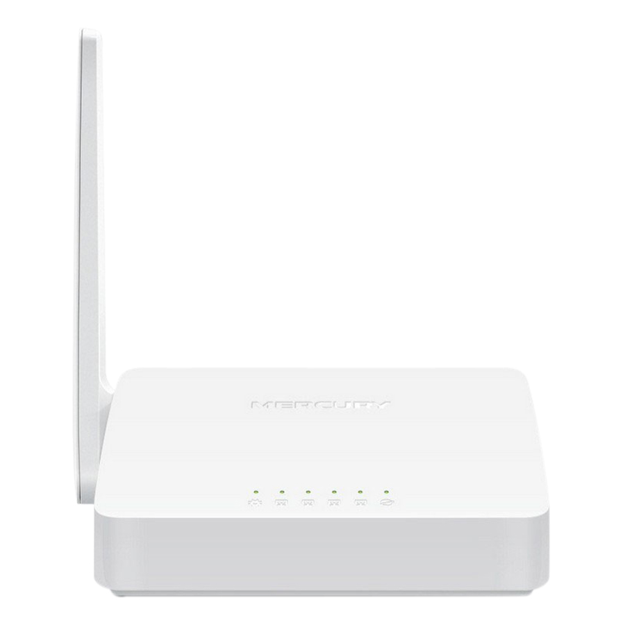Router Wifi Chuẩn N Mercusys MW155R (150Mbps) - Hàng Chính Hãng