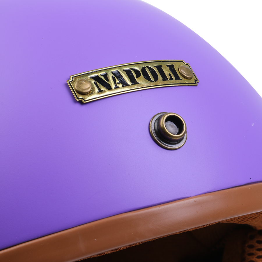 Nón Bảo Hiểm 3/4 Đầu Napoli N099 (Size L)