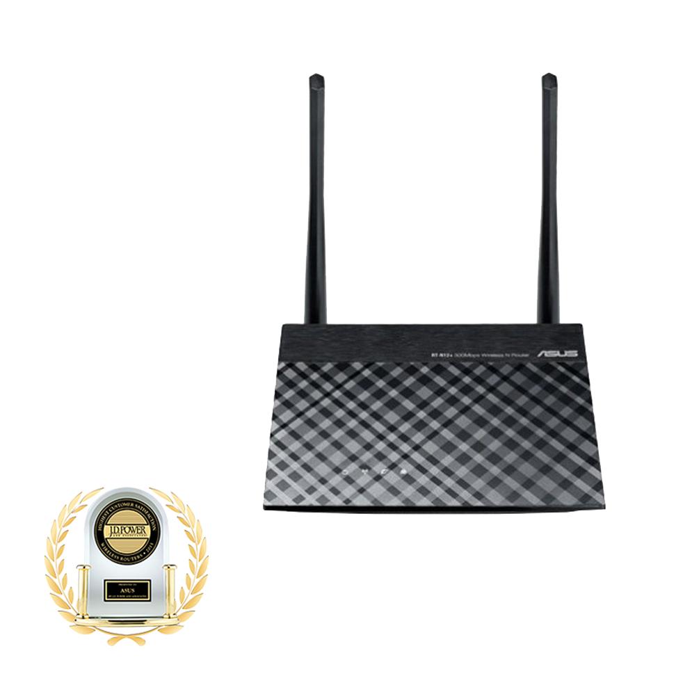 ASUS RT-N12+ - Bộ phát Wifi Chuẩn N Tốc Độ 300Mbp Mở rộng sóng - Hàng Chính Hãng
