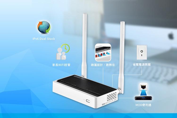 TotoLink N300RT - Bộ Phát Wifi Chuẩn N Tốc Độ 300Mbps