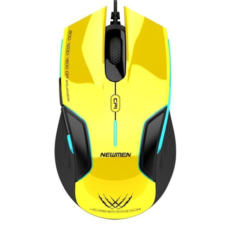 Chuột Có Dây Newmen N500 - Gaming - Hàng Chính Hãng