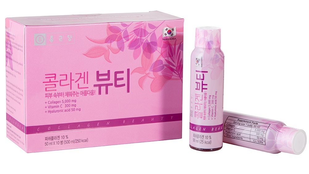 Thực Phẩm Chức Năng  Chong Kun Dang Nước Uống Collagen - Collagen Beauty