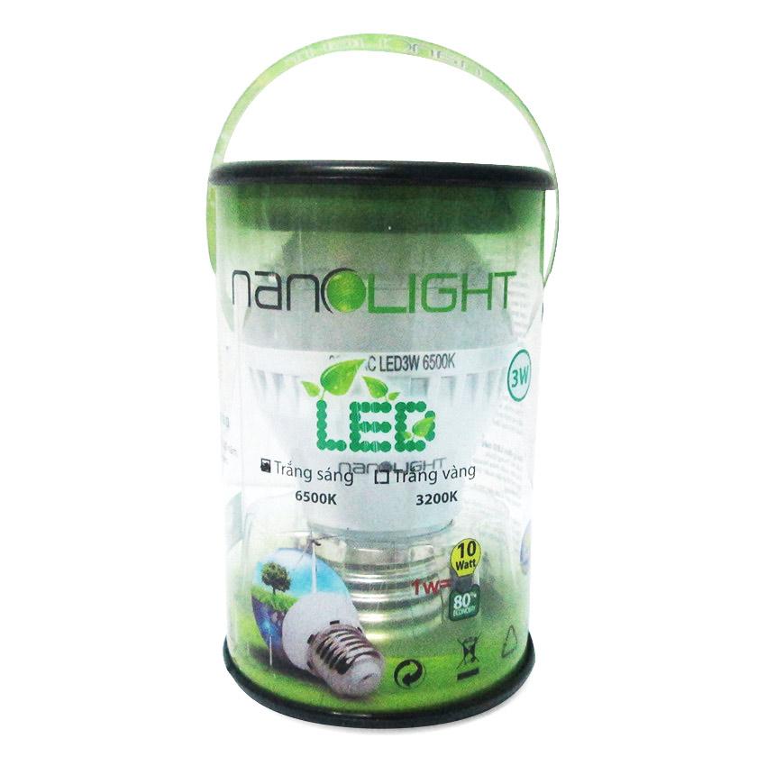 Bóng Đèn Led Nanolight 3W - Trắng Sáng