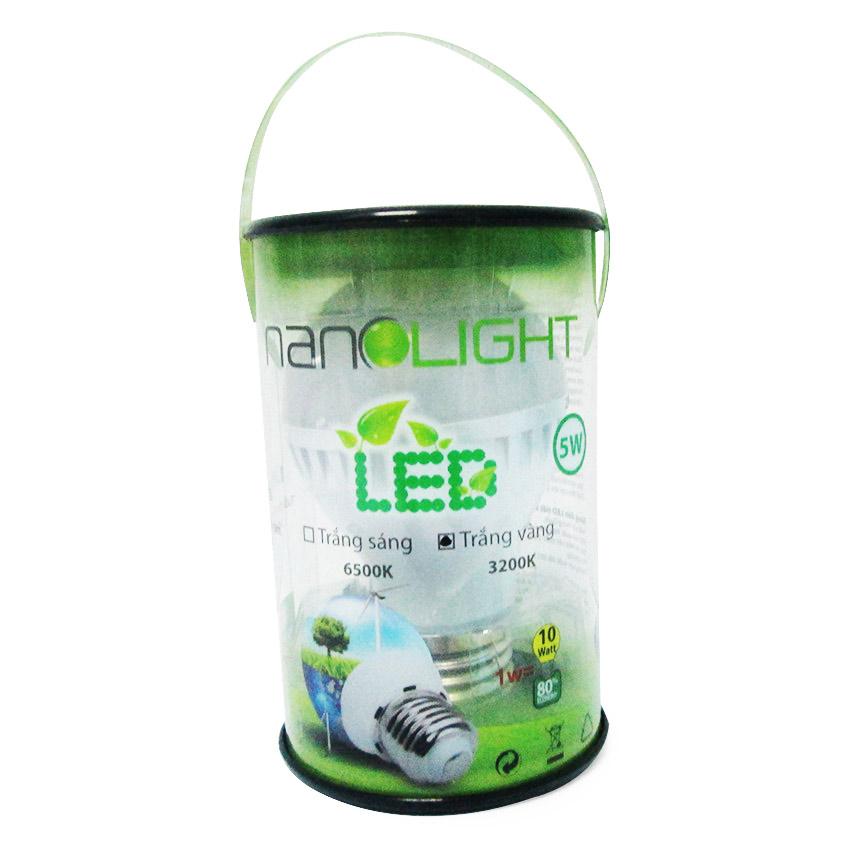Bóng Đèn Led Nanolight 5W - Trắng Vàng