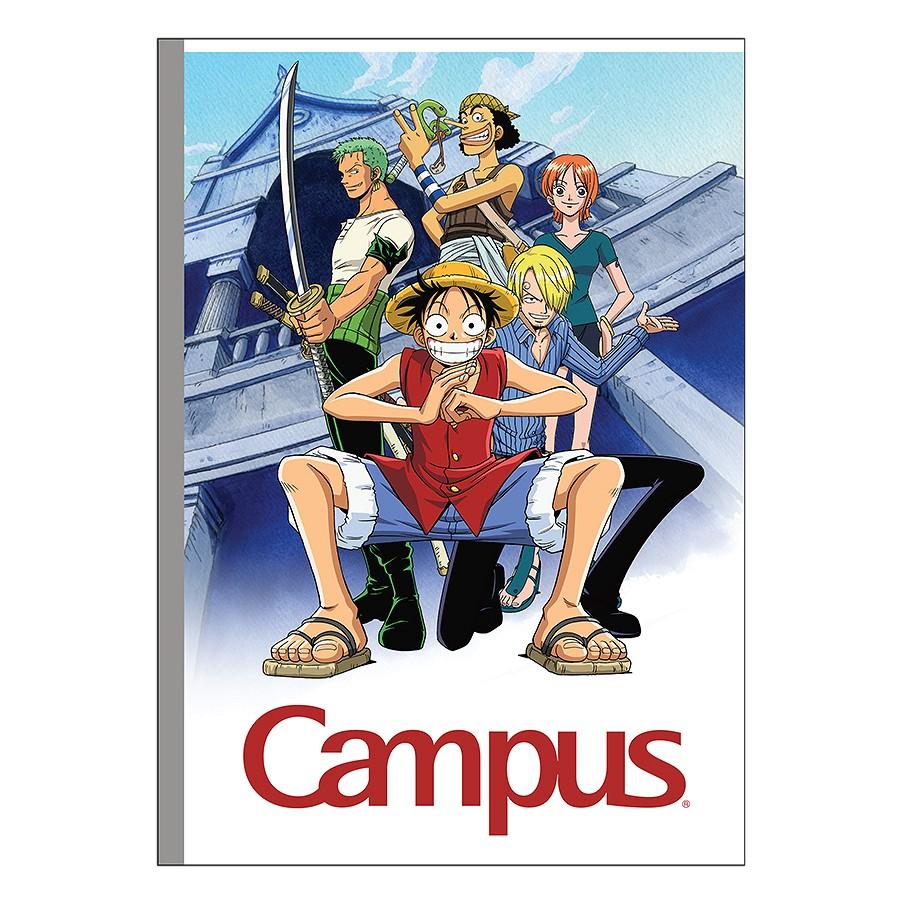 Lốc 5 Vở Ô Ly Campus B5 One Piece Legend - NB-BOPL200 (200 Trang)