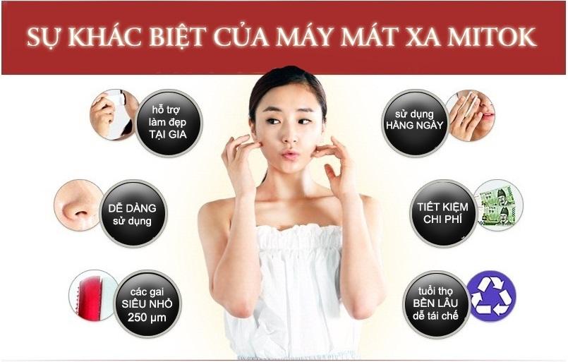 Dụng Cụ Massage Thẩm Thấu Mỹ Phẩm Trên Da MiTok It's Well Plus - MT001