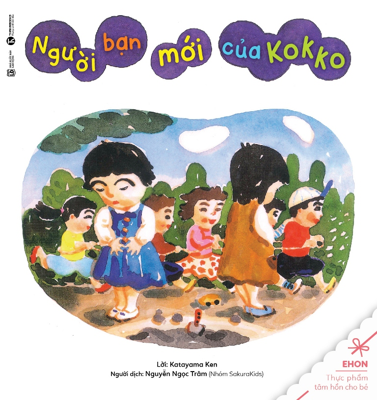 Truyện Ehon - Thực Phẩm Tâm Hồn Cho Bé - Người Bạn Mới Của Kokko