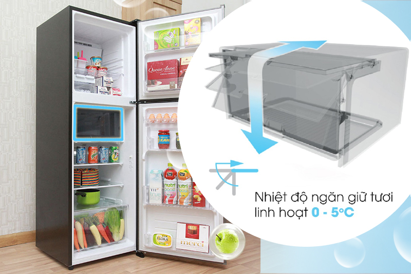 Tủ Lạnh Sharp SJ-X251E-DS (241L)