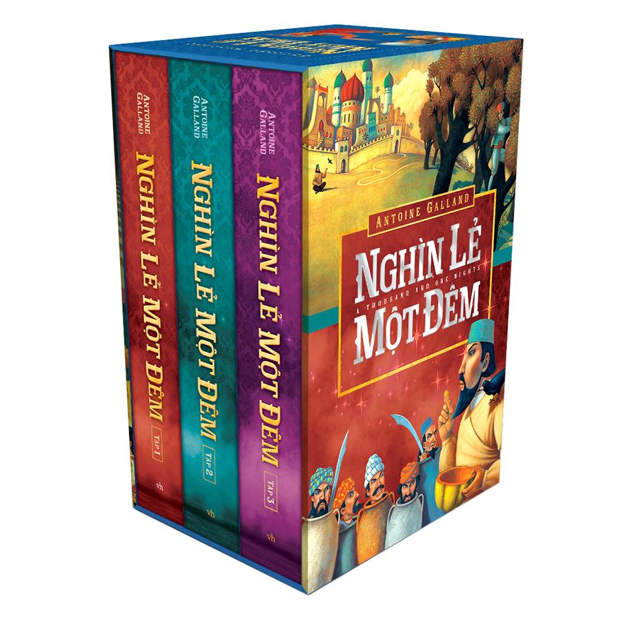 Combo Sách Nghìn Lẻ Một Đêm (Bộ 3 Quyển)