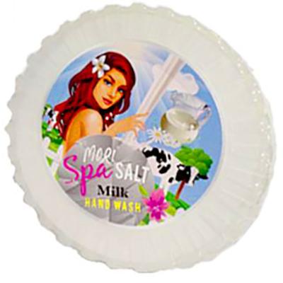 Muối Rửa Tay Spa Sữa Bò Mori Spa Salt Hand Wash - Milk (230g)