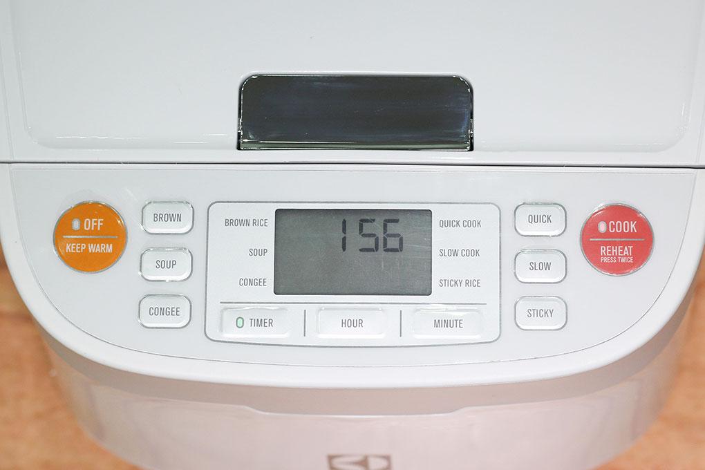Nồi Cơm Điện Electrolux ERC6503W - 1.2L (Trắng)