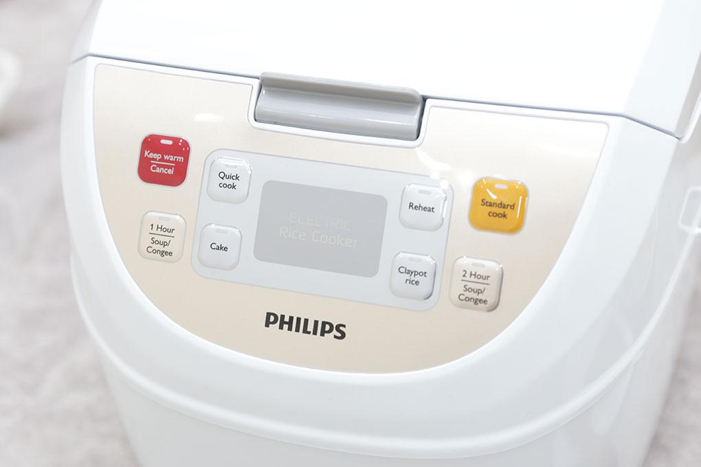 Nồi Cơm Điện Tử Philips HD3130 – 1.8 Lít