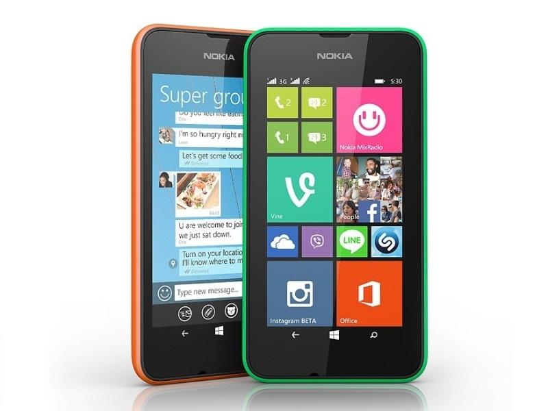 Nokia Lumia 530 có tính năng 2 SIM tiện lợi