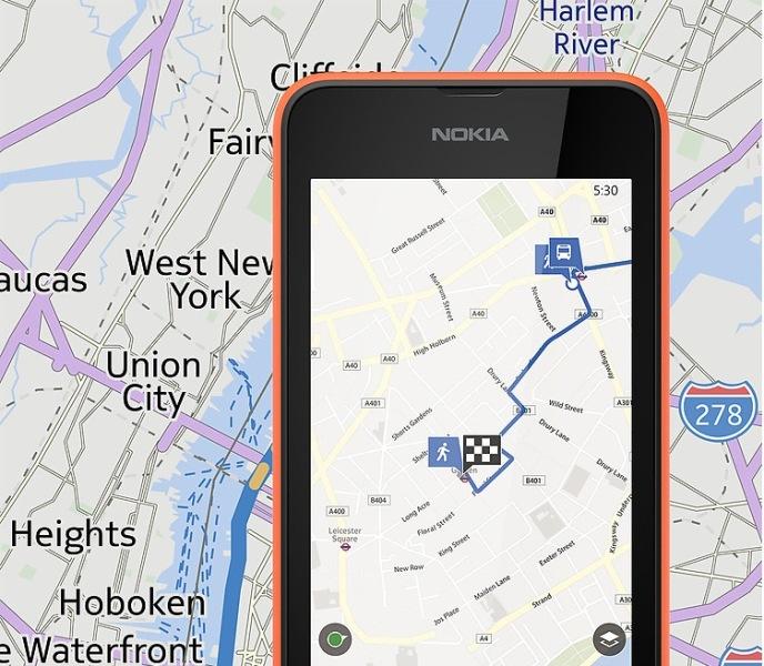 Nokia Maps - Bản đồ Offline trên Lumia 530