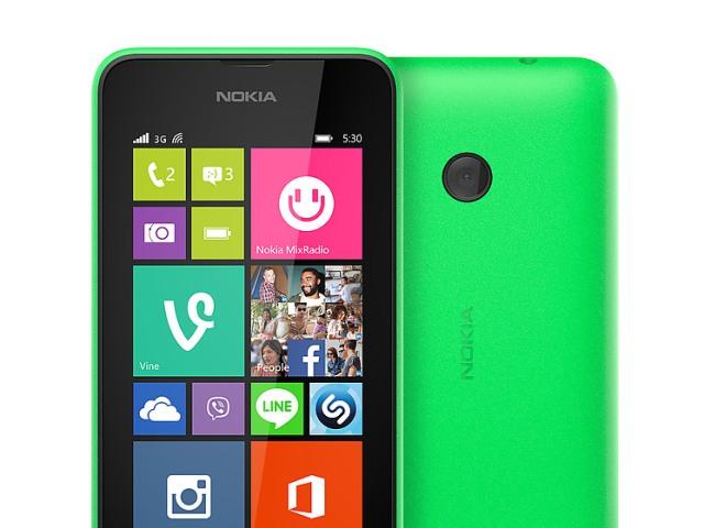 Lumia 530 trang bị camera sau 5.0MP