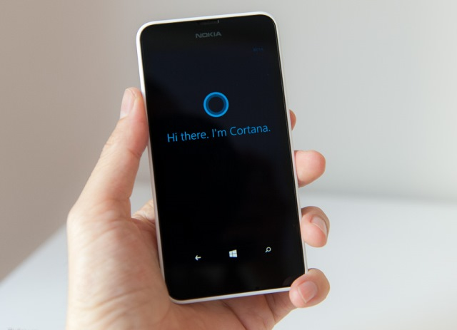 Cortana Nokia Lumia 630