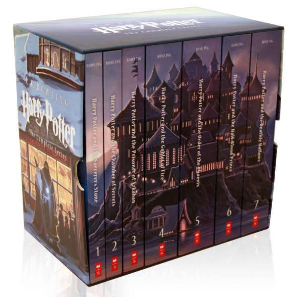 Harry Potter: Special Edition Paperback Boxed Set: Books #1 to 7 (Scholastic US Version) (English Book)