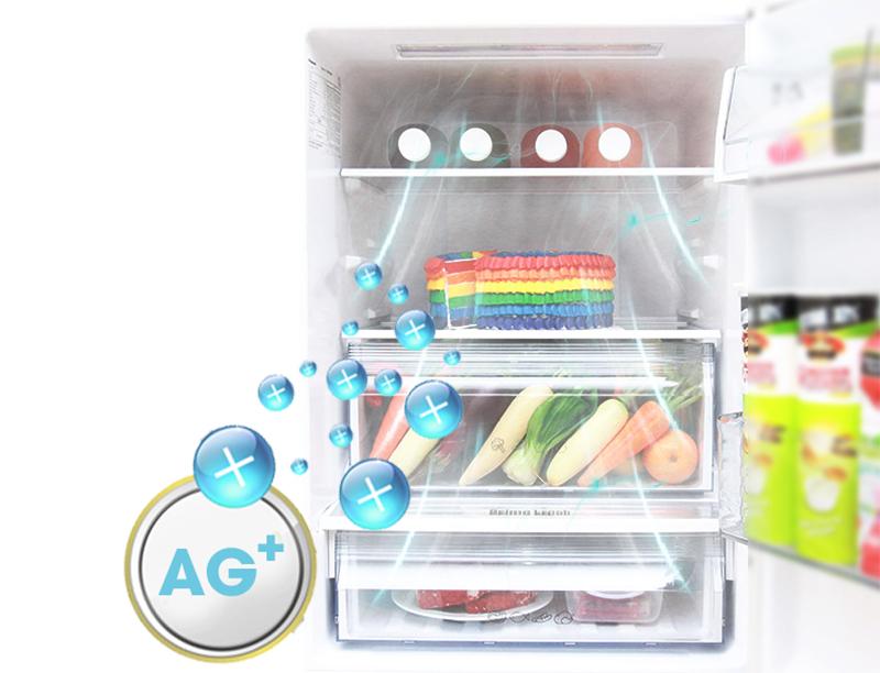 Tủ Lạnh Inverter Panasonic NR-BV368GKVN - 358L (Đen)