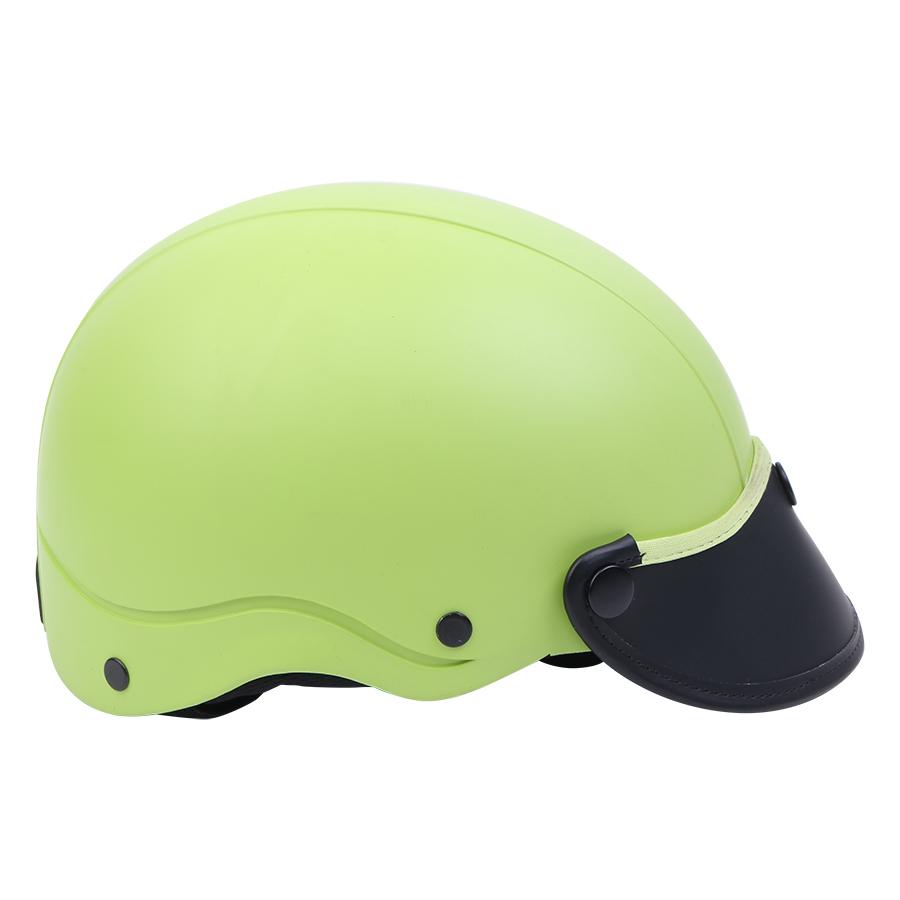 Mũ Bảo Hiểm 1/2 Đầu Napoli NS-N088-GREEN - Xanh Lá