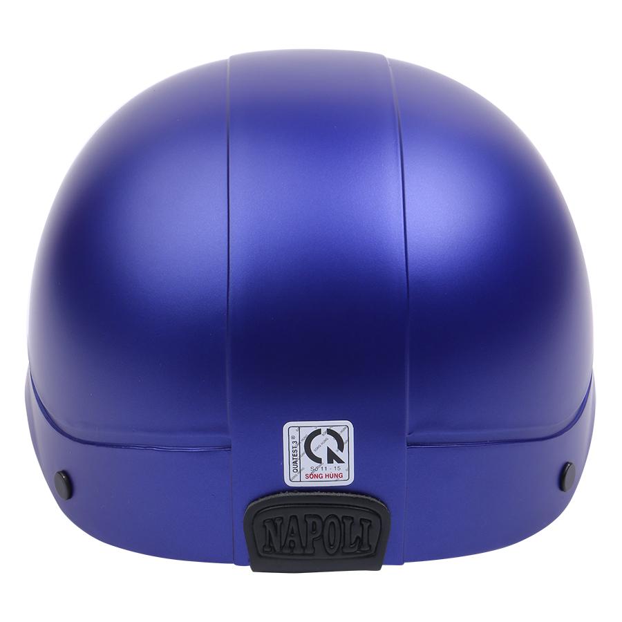Mũ Bảo Hiểm 1/2 Đầu Napoli NS-N088-BLUE-D - Xanh Dương Đậm