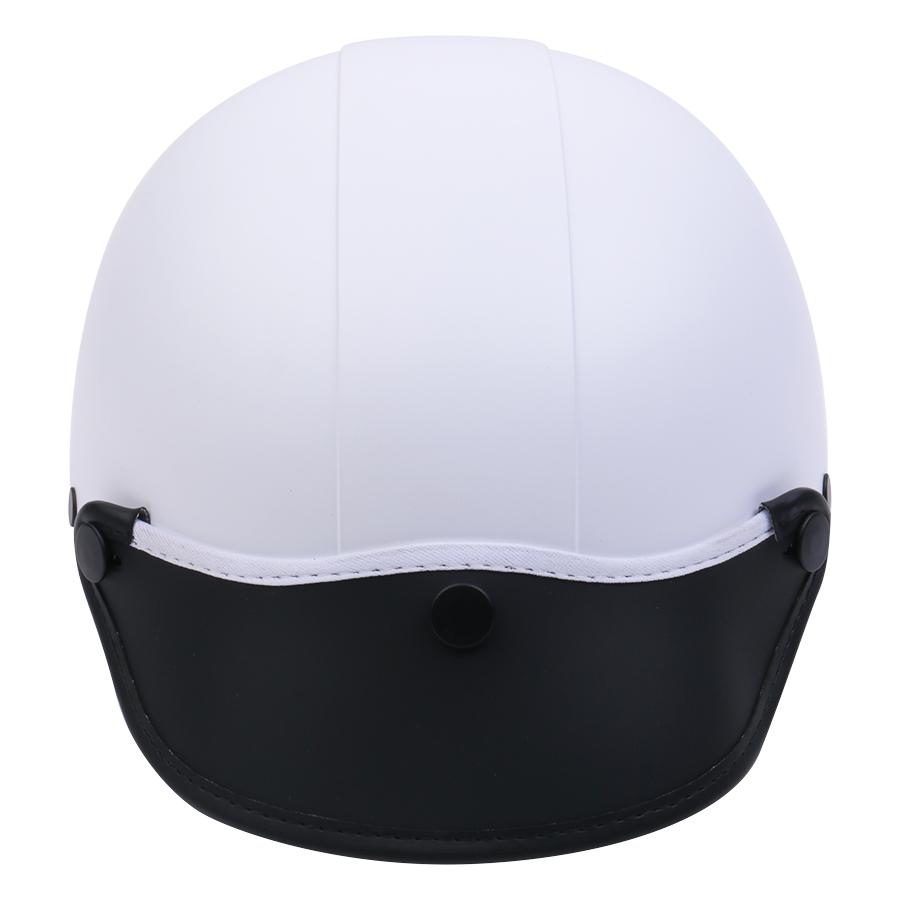 Mũ Bảo Hiểm 1/2 Đầu Napoli NS-N088-WHITE - Trắng