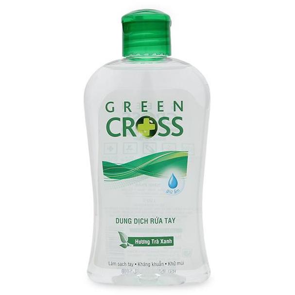 Nước Rửa Tay Green Cross Hương Trà Xanh Chai 250ml