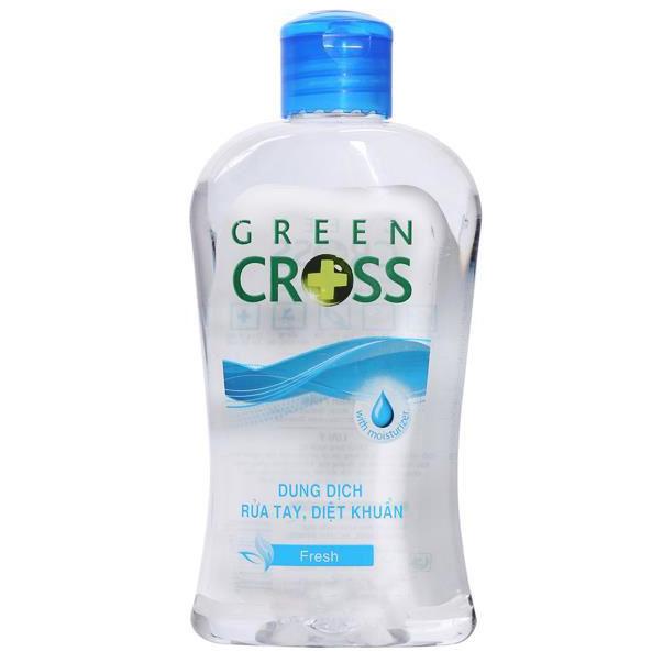 Nước Rửa Tay Green Cross Hương Tươi Mát Chai 250ml