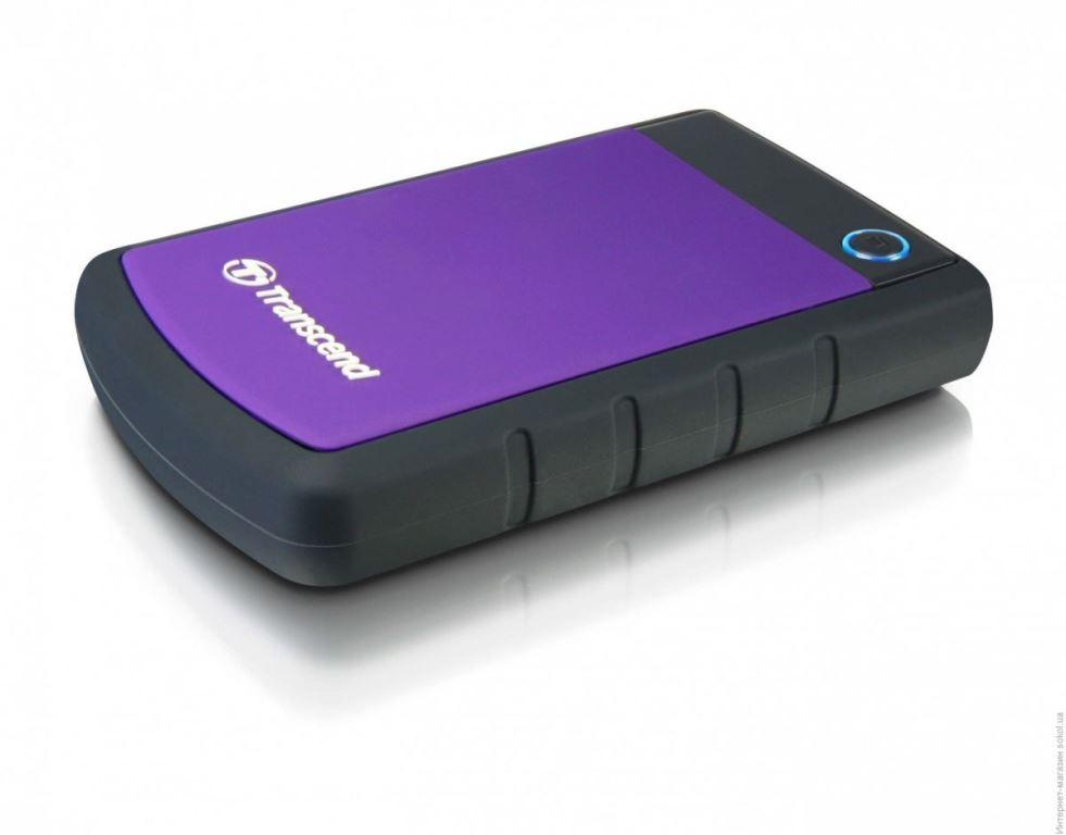 Ổ Cứng Di Động Transcend StoreJet H3P 2TB USB 3.0/3.1 - TS2TSJ25H3P - Hàng Chính Hãng