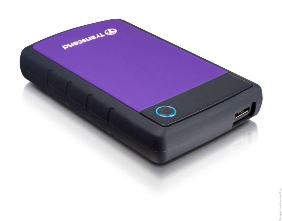 Ổ Cứng Di Động Transcend StoreJet H3P 1TB USB 3.0/3.1 - TS1TSJ25H3P - Hàng Chính Hãng