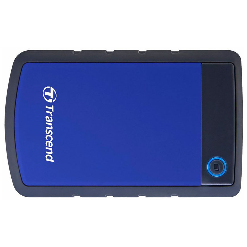 Ổ Cứng Di Động Transcend StoreJet H3B 2TB USB 3.0/3.1 - TS2TSJ25H3B - Hàng Chính Hãng