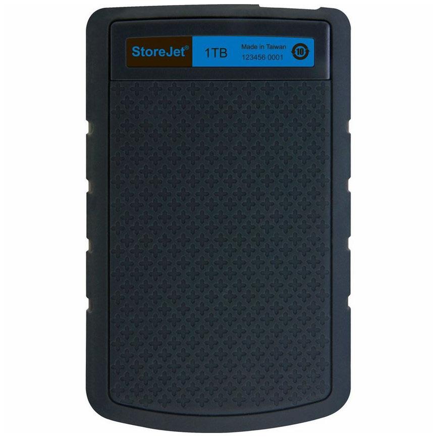Ổ cứng Di Động Transcend StoreJet H3B 1TB USB 3.0/3.1 - TS1TSJ25H3B - Hàng Chính Hãng