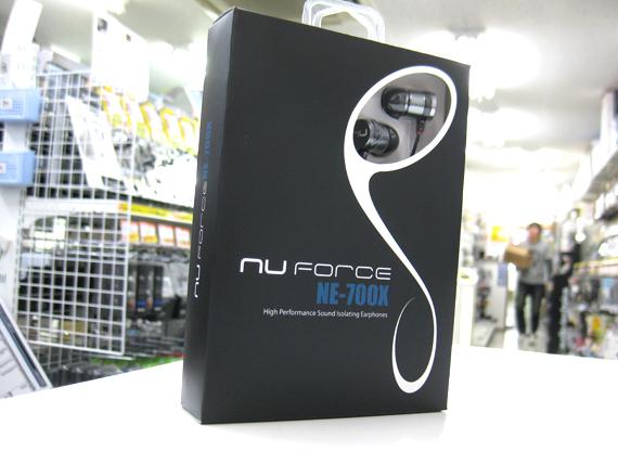 Tai Nghe Nhét Tai NuForce NE-700X - Hàng Chính Hãng