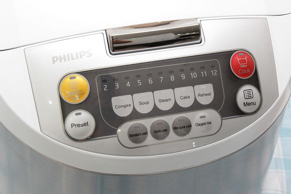 Nồi Cơm Điện Tử Philips HD-3038