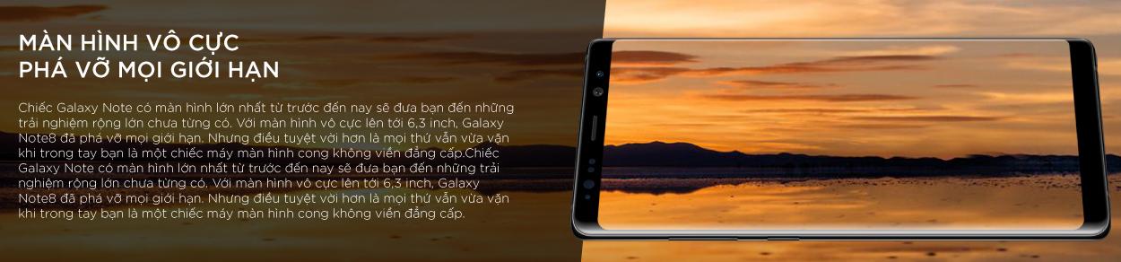 Điện Thoại Samsung Galaxy Note 8 - Hàng Chính Hãng