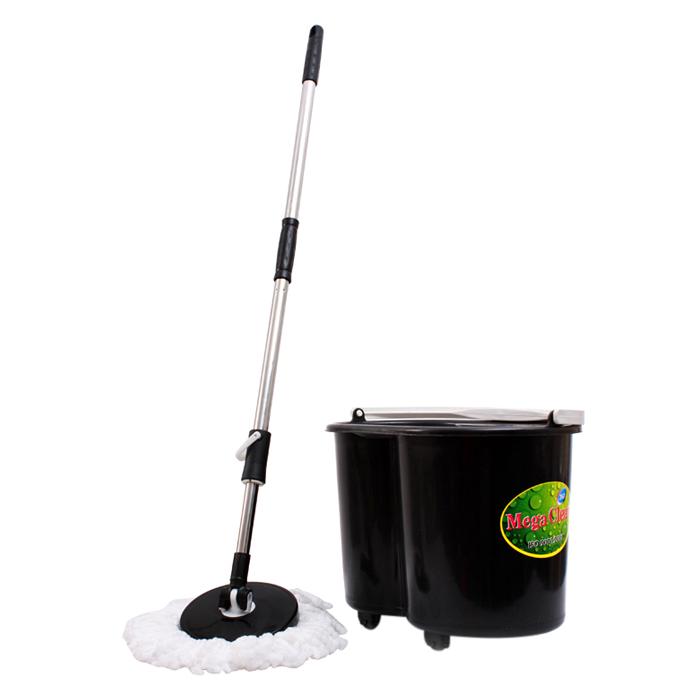 Bộ Lau Nhà Mega Clean OMBO-06 - Màu Đen