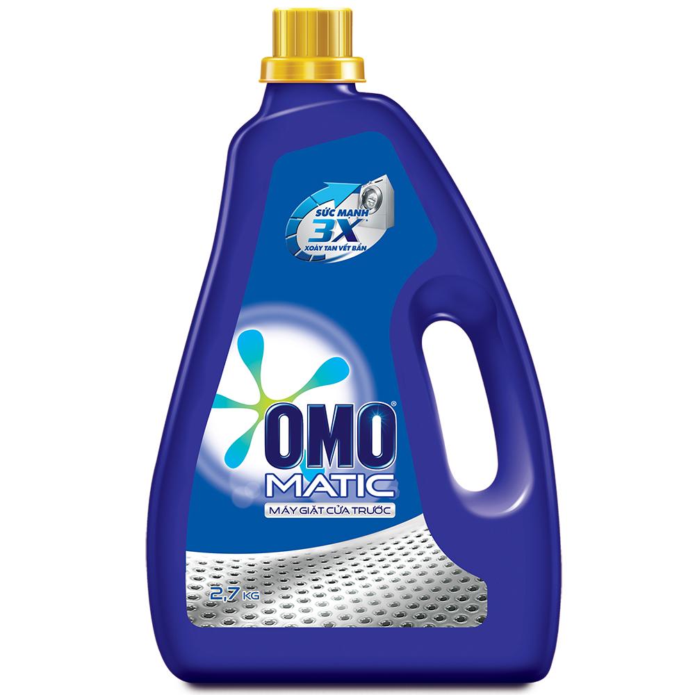 Nước Giặt  OMO Cho Máy Giặt Cửa Trước (2.7kg) - 21122484
