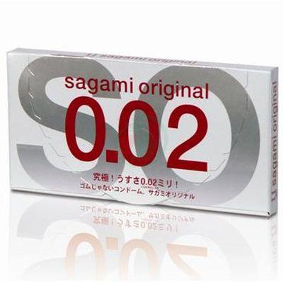 Bao Cao Su Sagami Original 0.02 - Hộp/2 chiếc - 4974234619023,62_90197,100000,tiki.vn,Bao-Cao-Su-Sagami-Original-0.02-Hop-2-chiec-62_90197,Bao Cao Su Sagami Original 0.02 - Hộp/2 chiếc