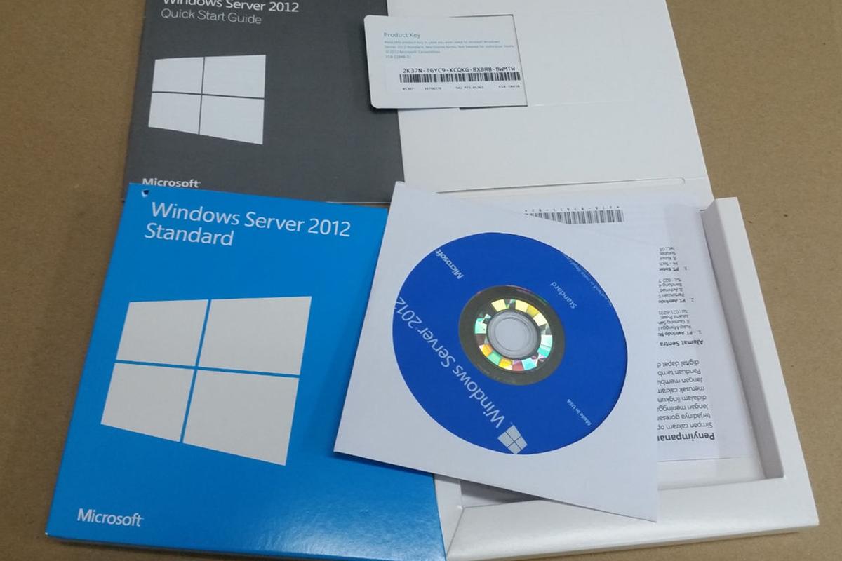 Windows Svr Std 2012 R2 x64 English 1pk DSP OEI DVD 2CPU/2VM (P73-06165) - Hàng Chính Hãng