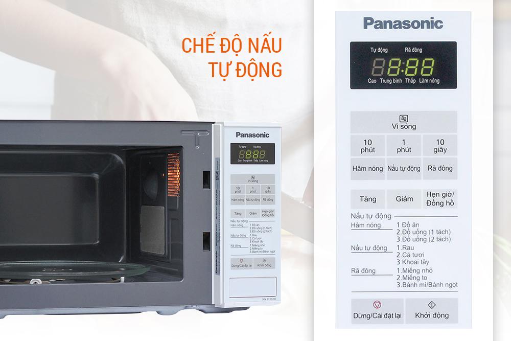 Lò Vi Sóng Điện Tử Panasonic PALM-NN-ST253WYUE - 20L