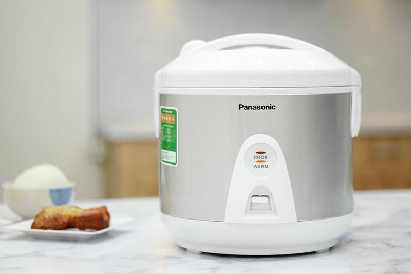 Nồi Cơm Điện Nắp Gài Panasonic PANC-SR-MEV18LRA - 1.8L ( Xám Trắng)