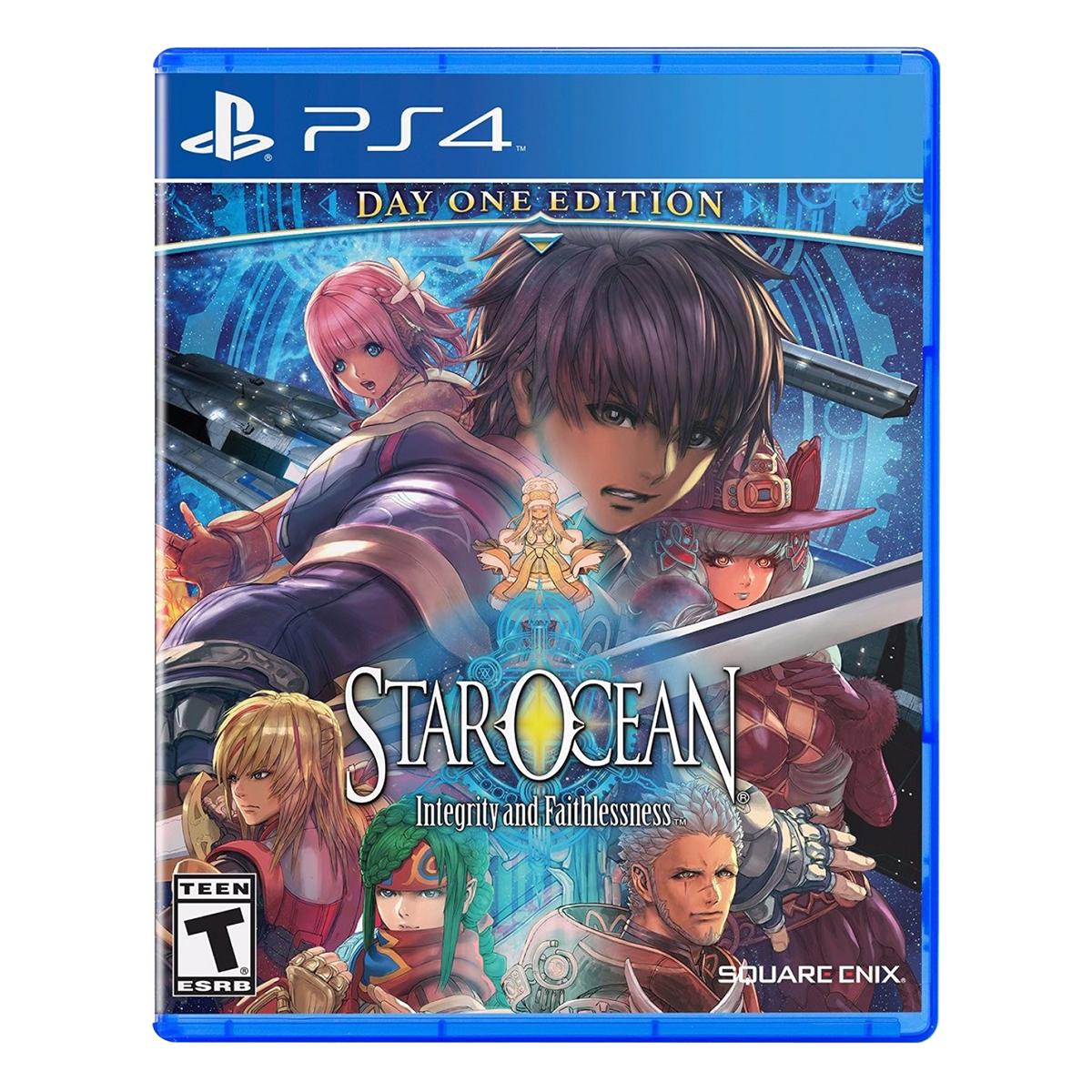Đĩa Game Sony PS4 Star Ocean -Integrity And Faithlessness - Hàng Chính Hãng