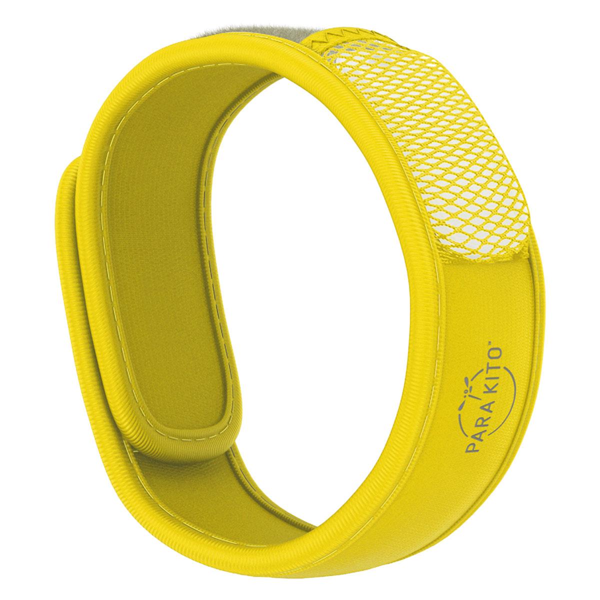 Viên Chống Muỗi PARA'KITO™ Kèm Vòng Đeo Tay Bằng Vải Màu Vàng (Loại 2 Viên) - PARA'KITO™ Mosquito Repellent Yellow Band With 2 Tablets - PCWB05