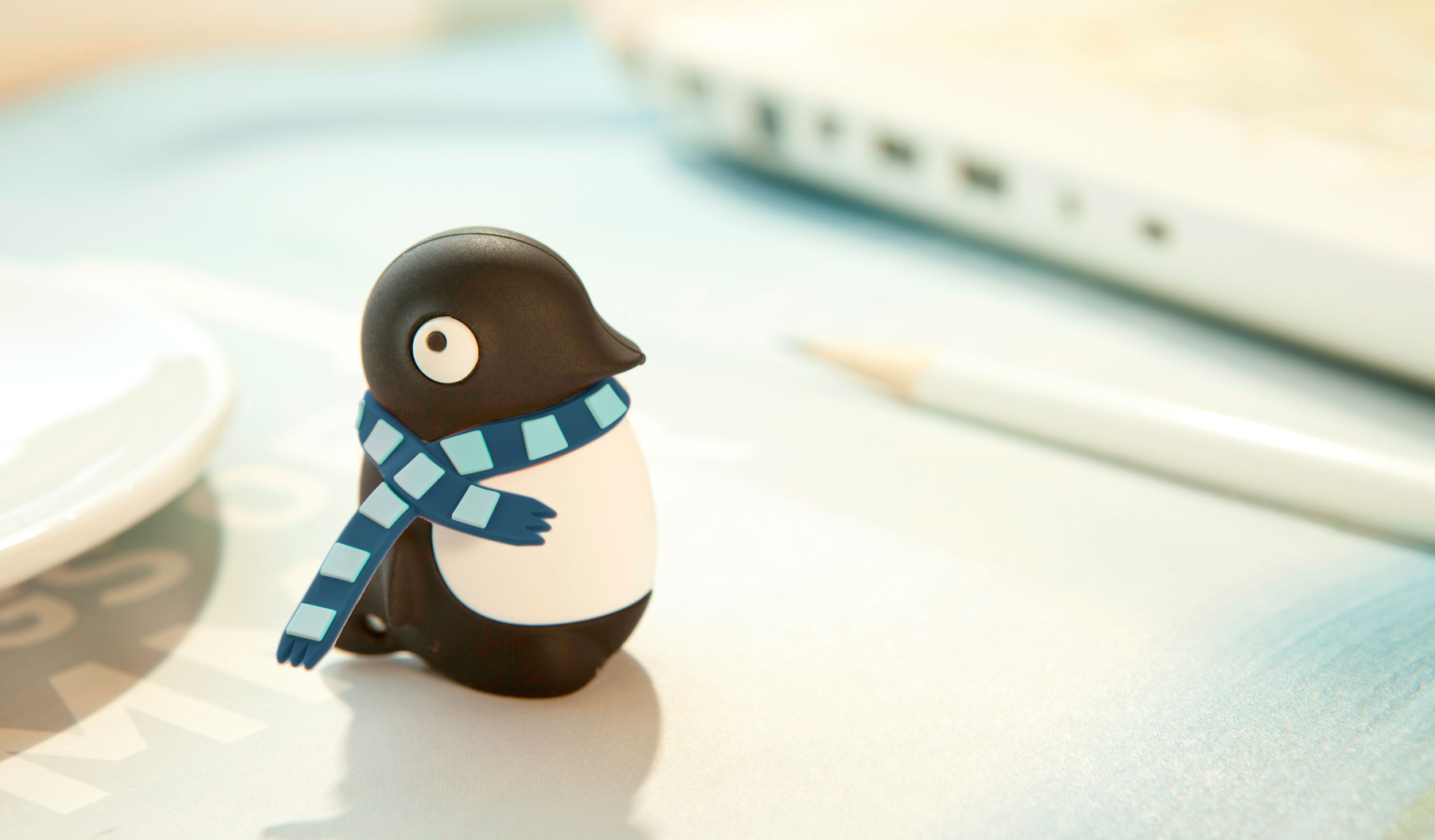 USB Bone 16GB Penguin - DR15011-16BK