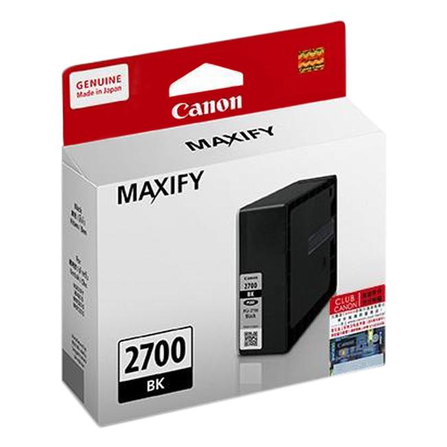 Mực In Canon PGI-2700PBK Cho Máy In Canon MAXIFY iB4070, MB5070, MB5370 - Hàng Chính Hãng