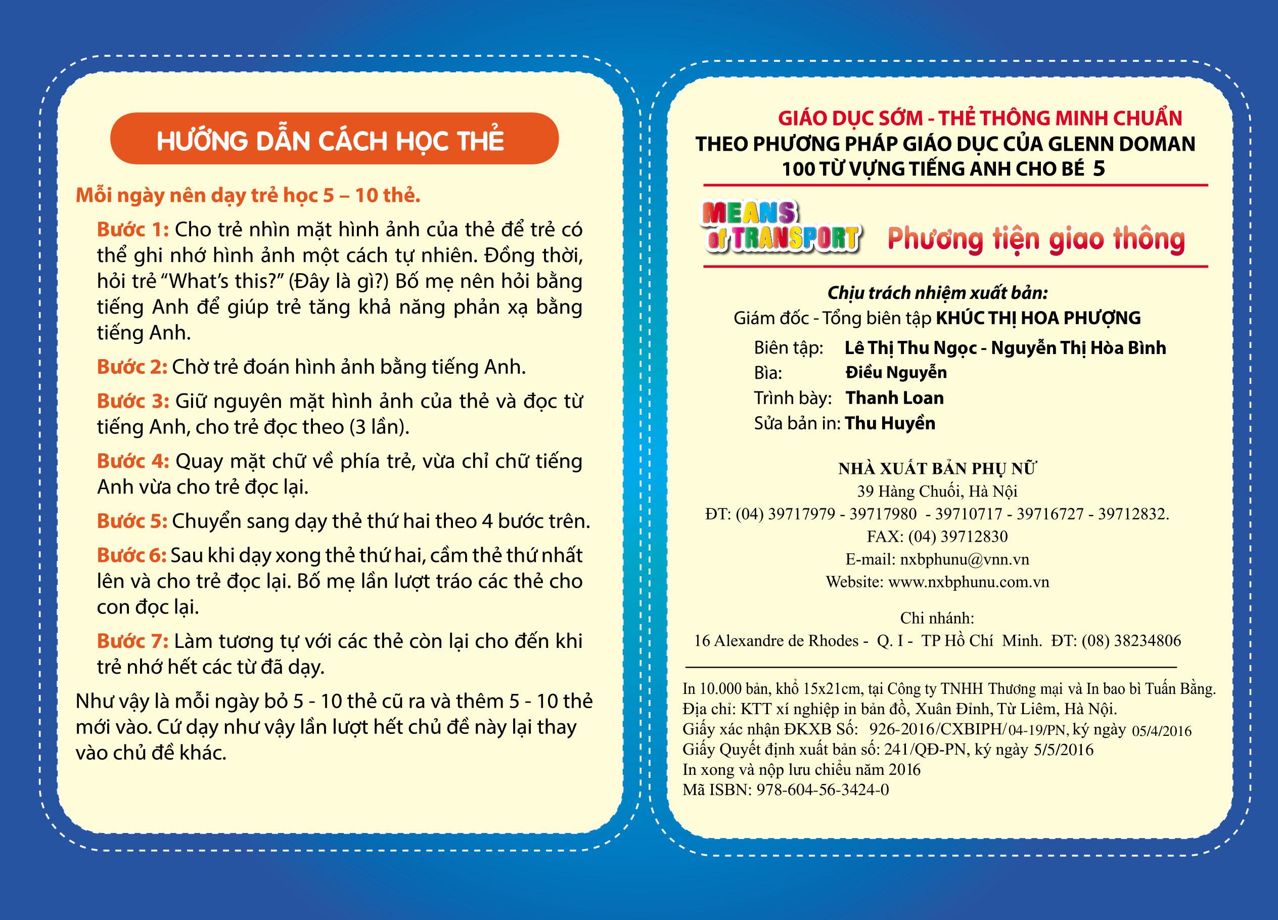 Flashcard Dạy Trẻ Theo Phương Pháp Glenn Doman - Động Vật Hoang Dã