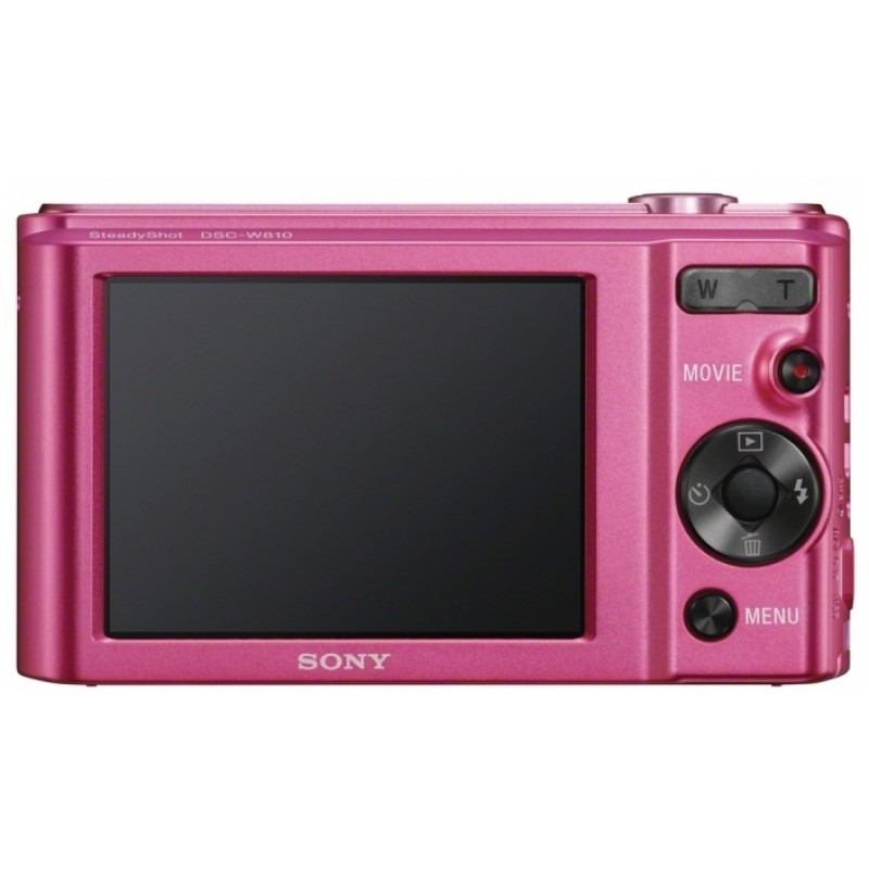 Máy Ảnh Sony DSC W810 - 20.1 Megapixel, Zoom 6x - Hàng Chính Hãng
