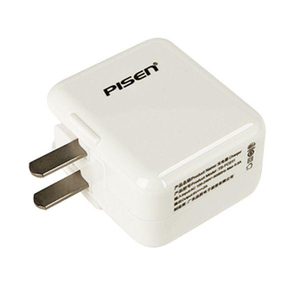 Adapter Sạc Pisen cho iPad USB 2.0A - Hàng Chính Hãng